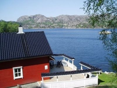 Photo for Holiday house for 4 persons - directly at the fjord incl. boat