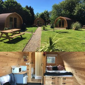 Photo for Luxury cosy  glamping pods set within a secret garden setting