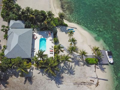 Photo for Kailypso: Beach House Oasis with Private Pool, Secluded Beach, Kayaks + Dock on BioBay