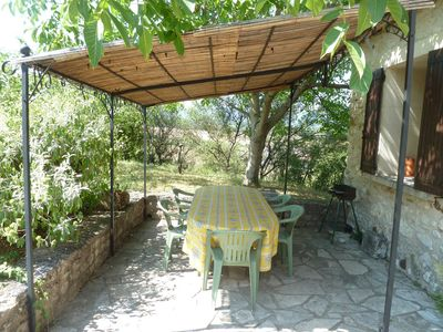 Photo for Independent house, quiet, pleasant garden and fenced in GARGAS