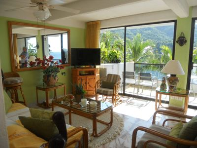 Photo for Beautiful Mismaloya beach-front condo