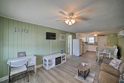 With beds for 8, this Myrtle Beach home is ideal for families.