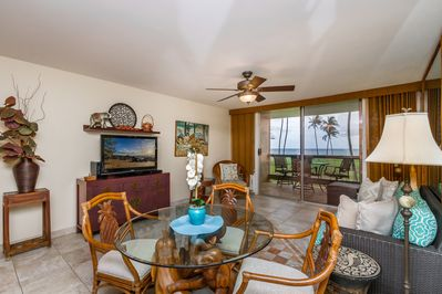 Gather, eat and relax in the open concept main living area. Enjoy the view!