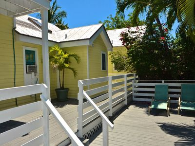 Photo for Cozy, dog-friendly condo with views - walk to beach, dining, & attractions