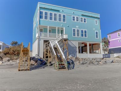 Monthly Rental Options! Oceanfront w/Rooftop Deck & Event Home, private beach access