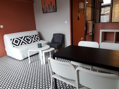 Photo for Modern and bright flat at the heart of Lille - Welkeys