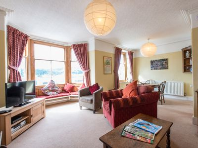 Photo for 2BR Apartment Vacation Rental in Deganwy