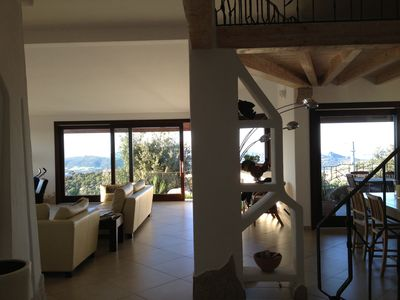 Photo for WONDERFUL VILLA WITH POOL WITH VIEWS ON THE ARCHIPELAGO OF LA MADDALENA