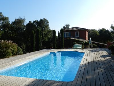 Photo for Frejus villa near the sea in nature. Pool, quality benefits