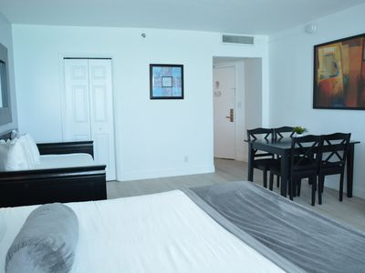 Photo for Beachfront Studio Apartment with Ocean Views in a GREAT Location