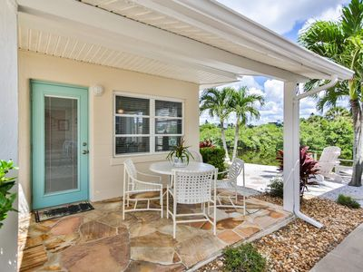 One Bedroom Condo on Casey Key with nice view of the canal