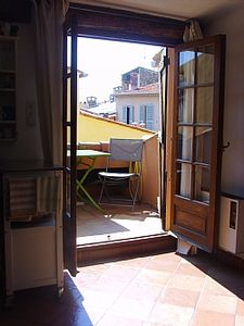 Photo for Studio Apartment With Roof Terrace In The Heart Of Old Antibes, Cote D'Azur