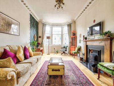 Photo for Bohemian Style, City Centre Apartment for 5 people