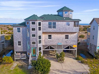 Photo for One of a Kind, Custom Designed Oceanfront Home in Salvo! Hot Tub & Dog-Friendly!