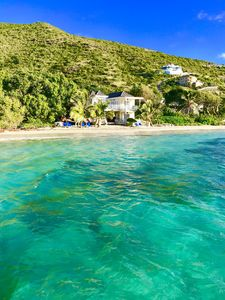 Photo for St Kitts Nature & Beach Lovers tranquil cottage right on the Beach
