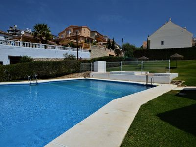 Photo for Air-Conditioned Home Short Drive from the Beach with Pool, Terrace & Wi-Fi; Parking Available