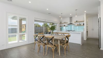 Open plan kitchen perfect for meals together