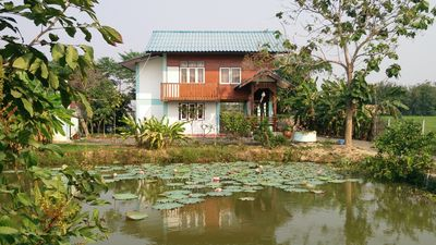Photo for This teak house built in 2012 is equipped with all facilities