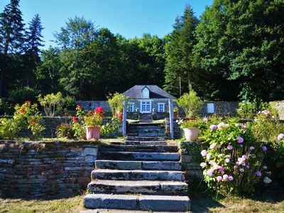 Photo for Unusual cottage in the heart of an old forge - private forest Center Bretagne