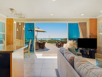 Photo for Modern, dog-friendly home at the beach w/ a full kitchen, patio, & amazing views
