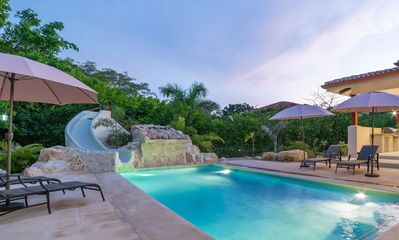 Photo for Beautiful modern 5 bedroom house, walk to the beach