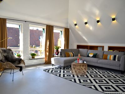 Photo for Nice apartment in the center of Bergen! Sunny terrace, quiet, near the beach, Prkplatz