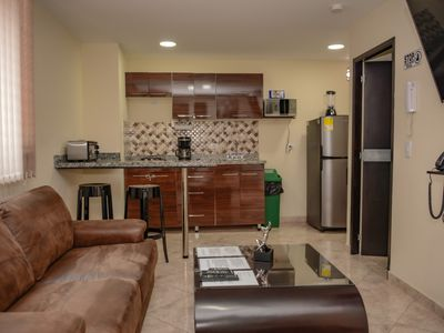 Photo for One Bedroom AC Hot Tub Flat screens Parque Poblado APT 401