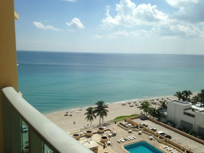 Photo for Nice fresh Ocean View / front apartment ,