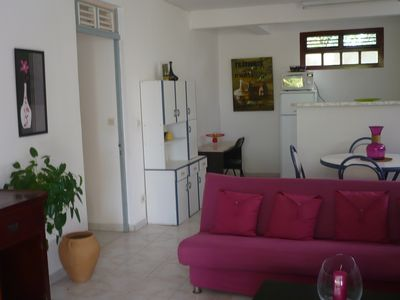 Photo for FRANCOIS F3 TANGO VILLA GARDEN AGREEABLY DONE CLIM WIFI CANAL SAT