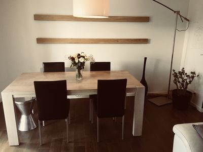 Photo for Apartment in Juan les Pins 5 minutes from the sea