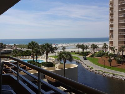 Photo for 2BR/2BA-Perfect Ocean View! Remodeled Kitchen & Baths! Huge Balcony!