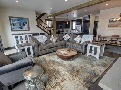 Photo for New luxury Townhouse w/ Private Hot Tub! Great Summer Rates!