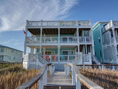 Photo for New Listing Exclusive Ocean Front Condominium, direct beach access.