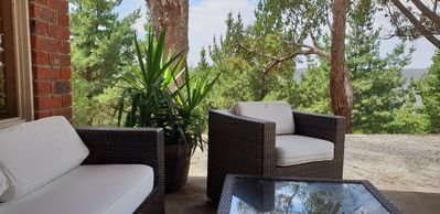 Photo for Your own private retreat - cosy for 2, great for 8.  Views over Lake Eildon
