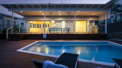 Photo for Belmore Tce Beach Pad just 100m to the Beach - Sleeps 10 - 4 Bed, 2 Bth, Pool