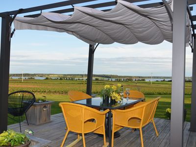 Photo for Greenwich Moonlight Bay Cottage, PEI, Stunning Waterview, Near Beach, Great Amenities