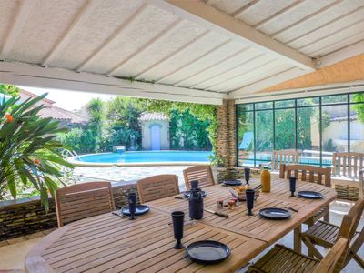 Photo for Vacation home Villa CYRNOS in Sainte Maxime - 6 persons, 3 bedrooms