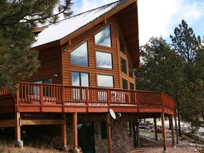 Photo for Executive Mountain Home on 70 Acres with Spectacular Views