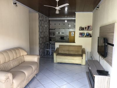 Photo for House on the edge 5 minutes from the beach of Guararuba near pharmacy markets and etc.