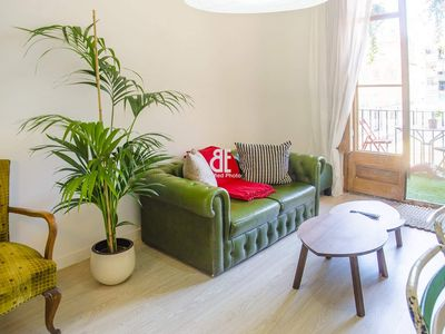 Photo for Homes In Blue - Apartment with 1 bedroom and 1 bathroom with capacity for 2 people located in the heart of the Eixample district of Barcelona