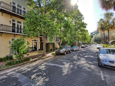 Photo for Balcony on Monterey: 2 BD condo steps from Forsyth park