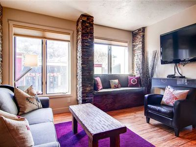 Photo for Main Street Condo Walking Distance to Town Lift