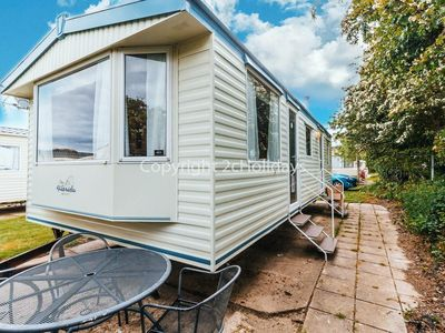 Photo for 6 berth caravan for hire at Broadland sands in Suffolk ref 20043