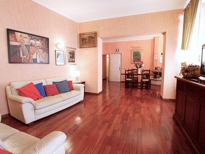 Photo for 2 bedroom 2 bathroom for 7 people near the Spanish Steps