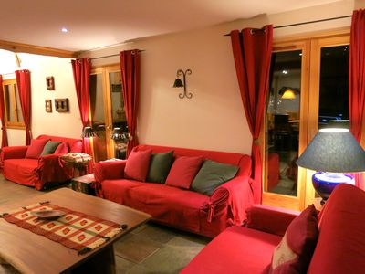 Photo for Part of cottage 10 people 6 km from Morzine Avoriaz Spa Sauna Fireplace