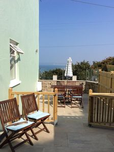 Photo for Luxury Cottage next to sea with wonderful sea views, ideal for everyone and dogs