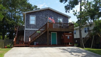 Photo for OBX Fall is Fabulous.BookNow! Family&DogFriendly,FencedYard,4BR/2BA,LinensIncl.