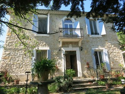 Photo for Charming house, 8 people large private pool, between Cévennes and Garrigues