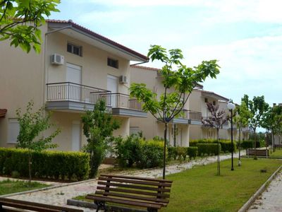 Photo for Beautiful maisonettes with garden in Kalives, Halkidiki