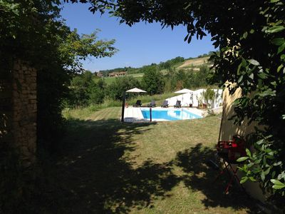 Photo for Farmhouse with Large Private Pool and Beautiful Views in Large Grounds